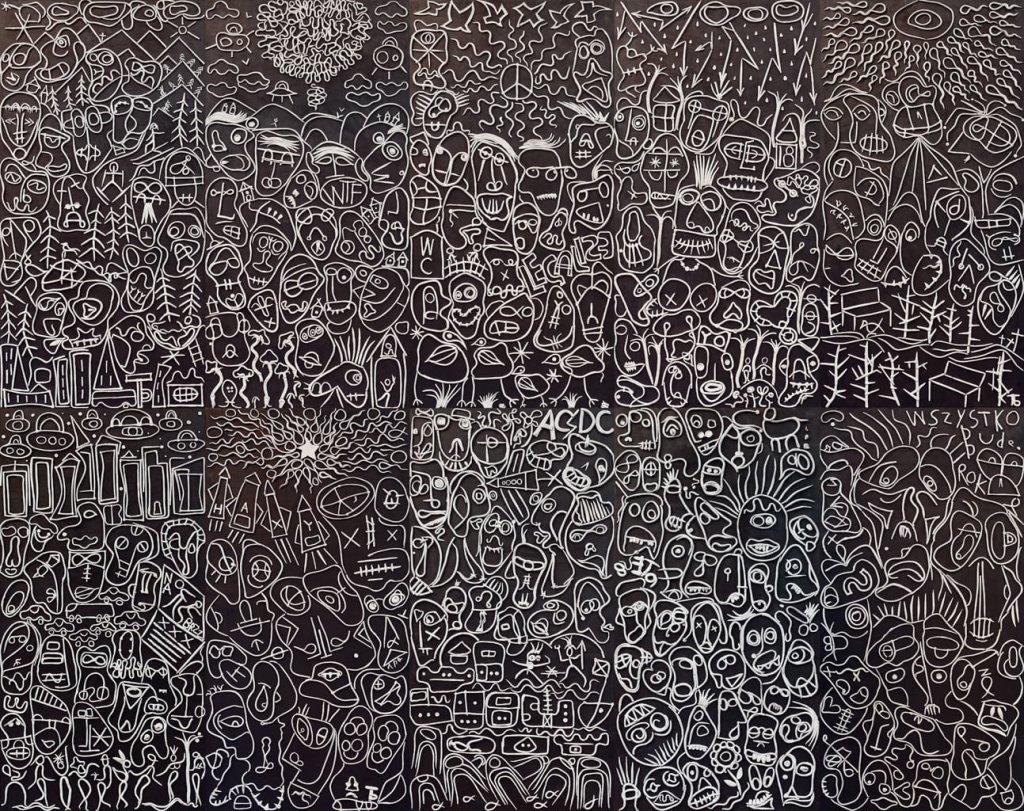 BOGDAN TOMASHEVSKIY Drawings on the asphalt
